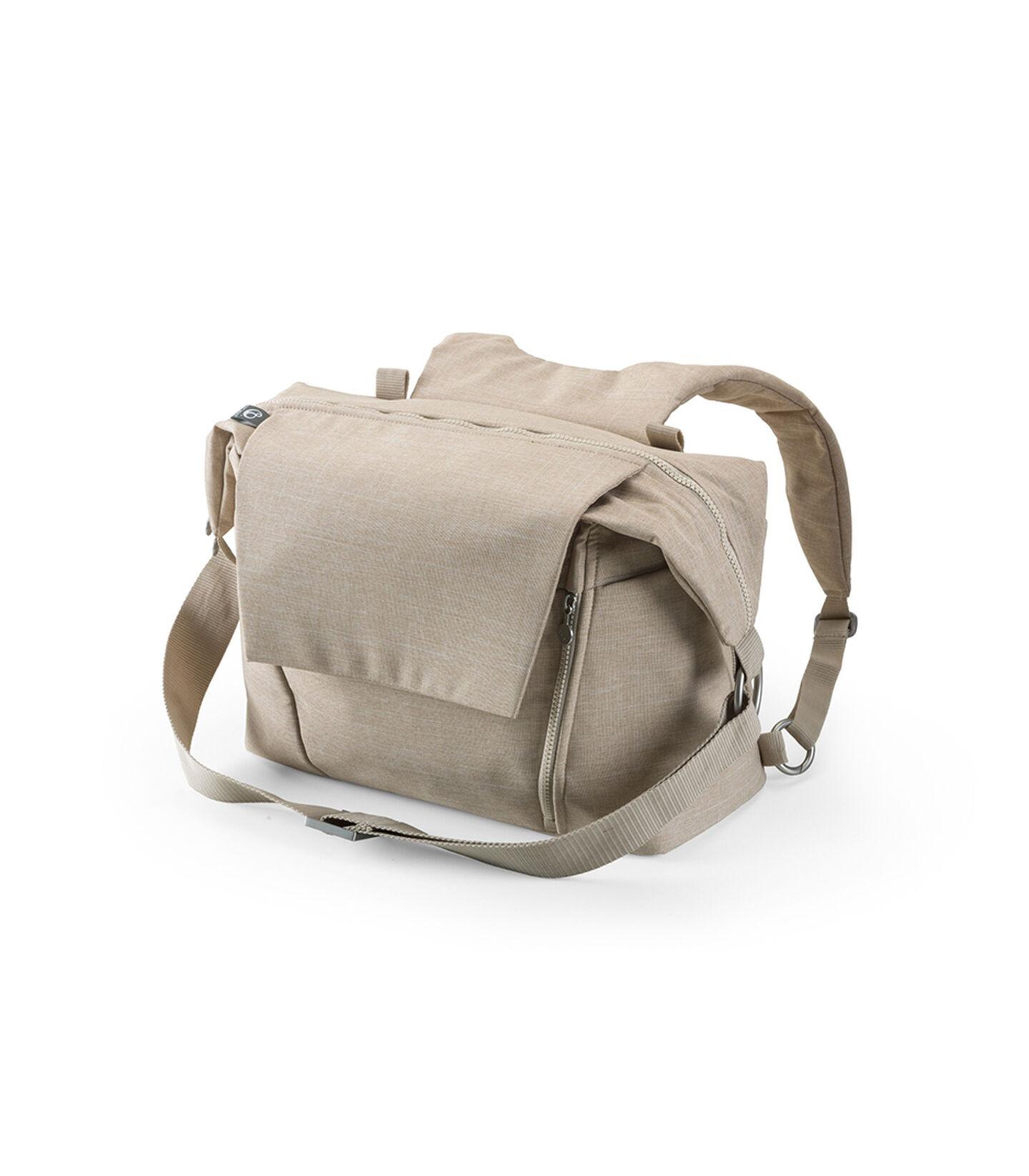 Stokke® Stroller Changing Bag, Beige Melange.