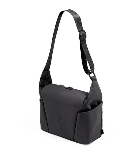 Stokke® Xplory® X Changing bag Rich Black, Negro Sólido, mainview view 3