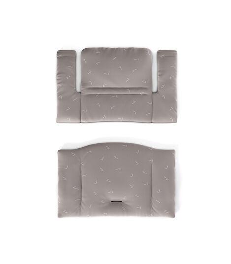 Tripp Trapp® Classic Cushion Icon Grey. Flatlay.