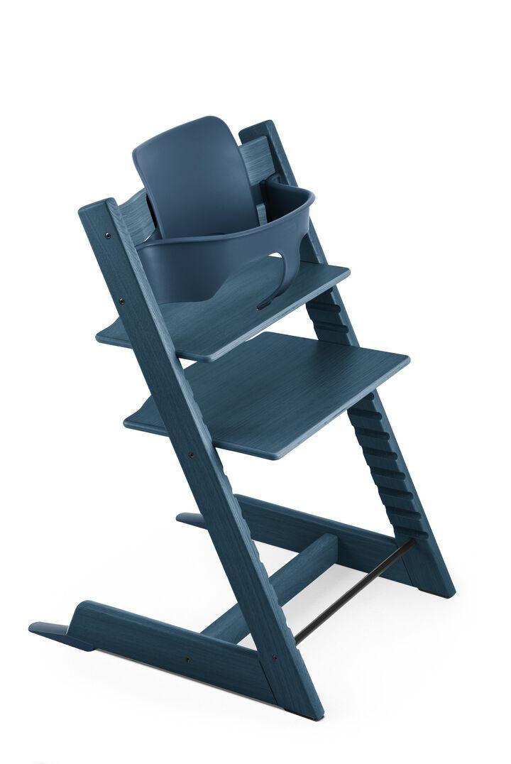 tripp trapp baby set midnight blue. Black Bedroom Furniture Sets. Home Design Ideas