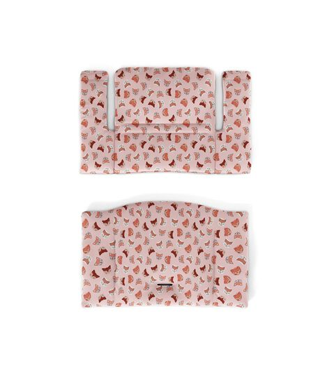 Tripp Trapp® Classic Cushion Pink Fox. Flatlay. view 3