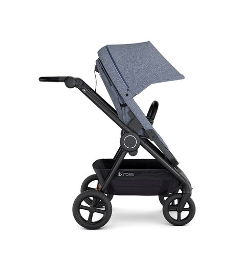 Stokke® Beat™ with Seat. Blue Melange. Forward facing. view 4