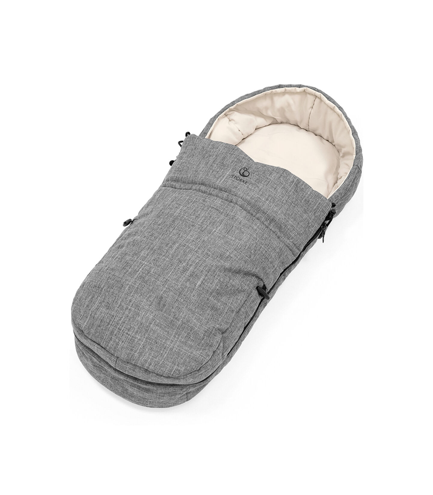 Stokke® Beat™ Soft Bag, Black Melange.