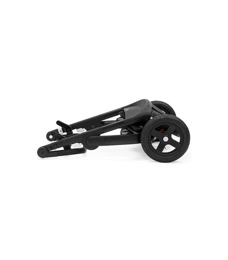 Stokke® Trailz™ Terrain Black Chassis with Deep Blue, Deep Blue, mainview view 4