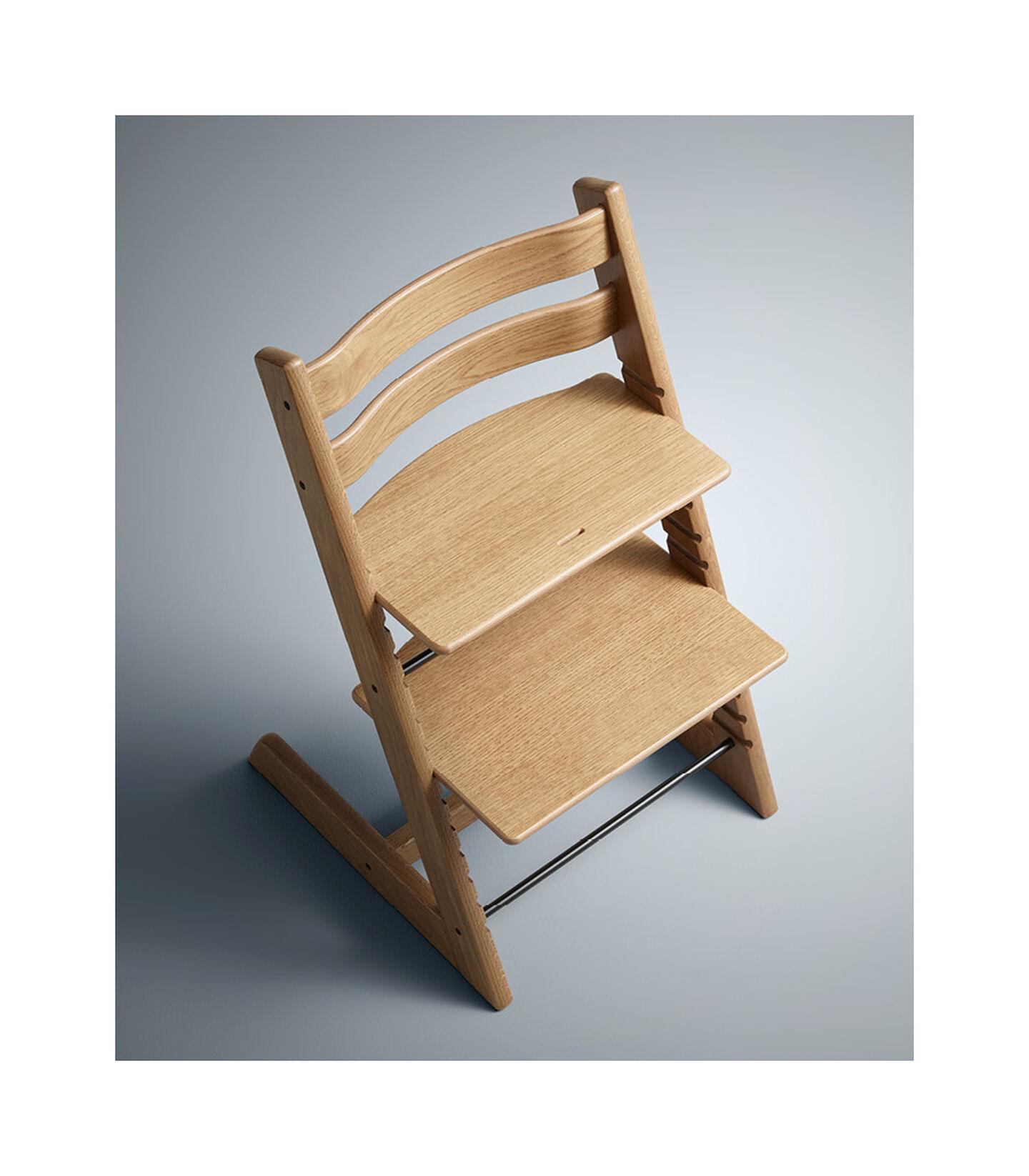 Tripp Trapp® Chair Oak Brown, Oak Brown, mainview view 4