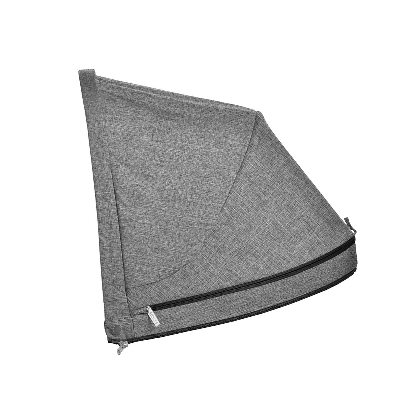 Stokke® Stroller cappottina Black Melange, Nero Melange, mainview