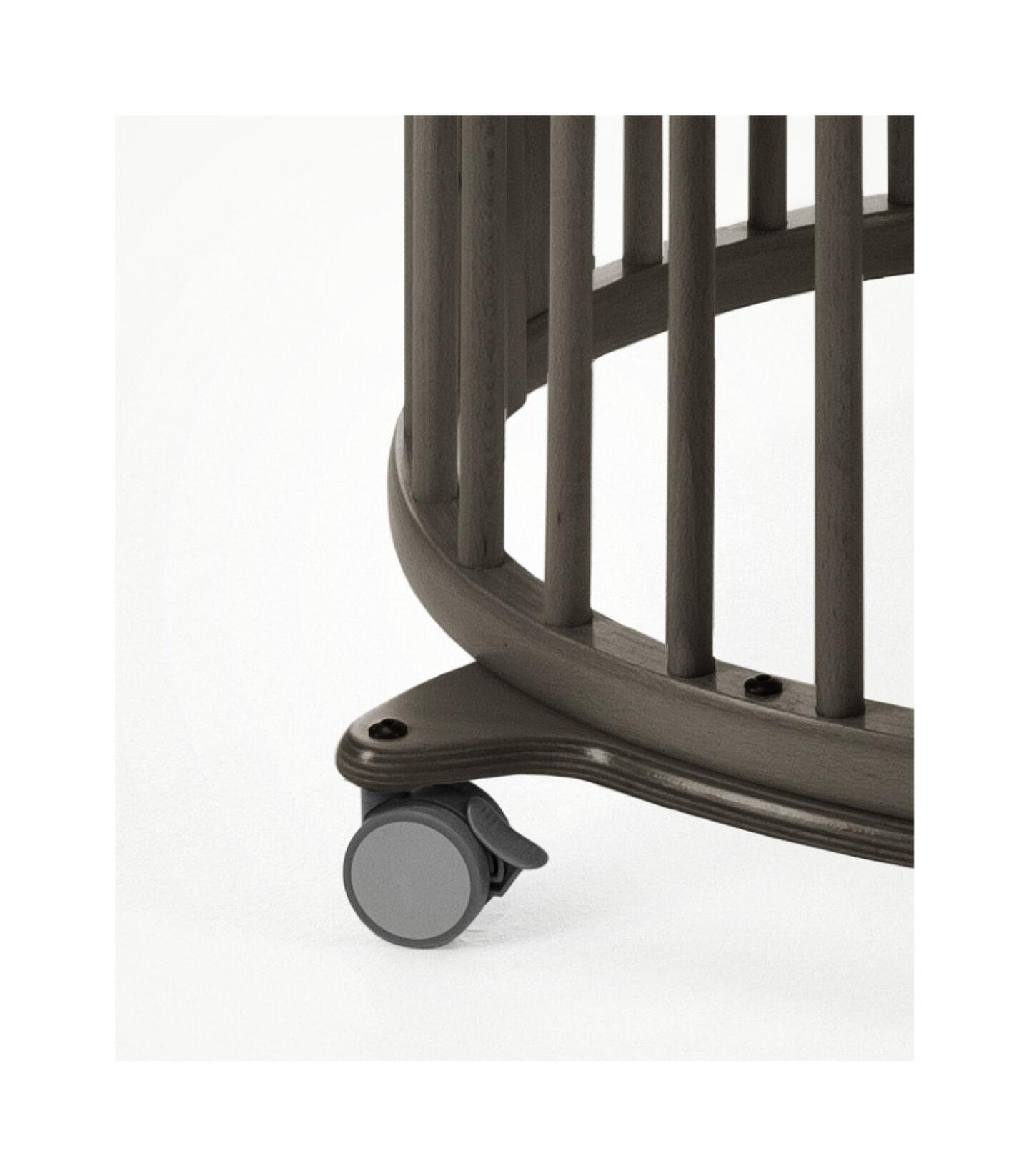Stokke® Sleepi™ Mini Hazy Grey, Hazy Grey, mainview view 3