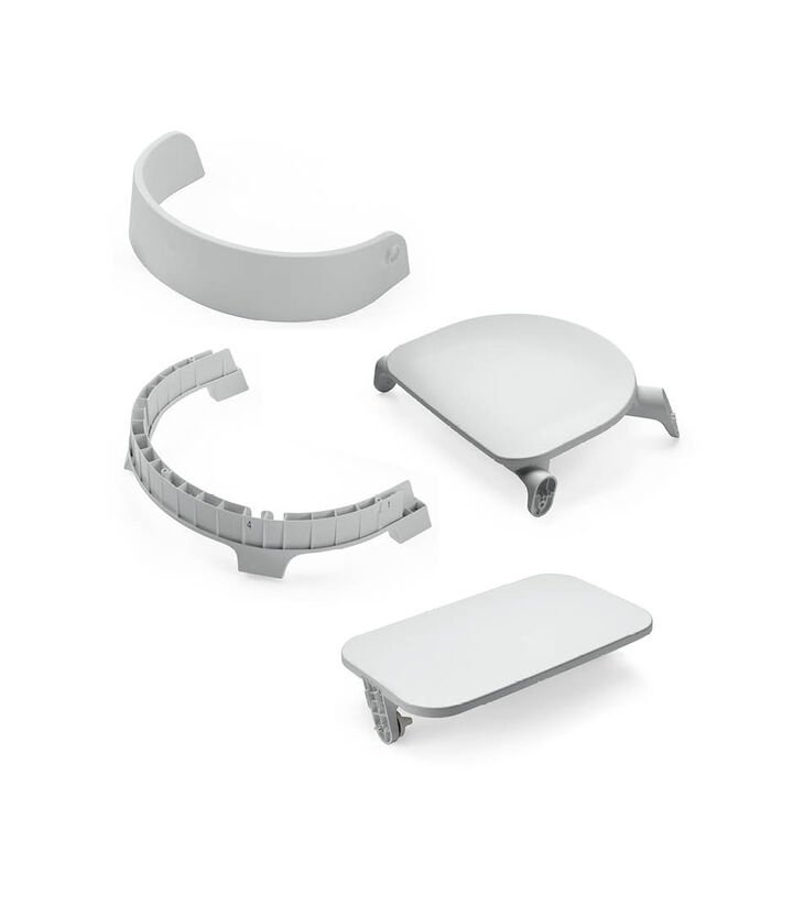 Stokke® Steps™ Chair Seat Grey, Grey, mainview view 1