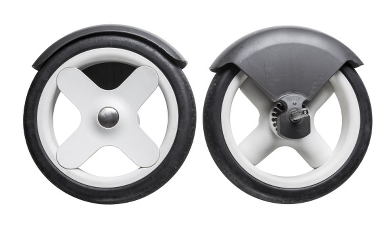 Stokke® Trailz™ Grey Classic bakhjul (2 stk.), , mainview view 2