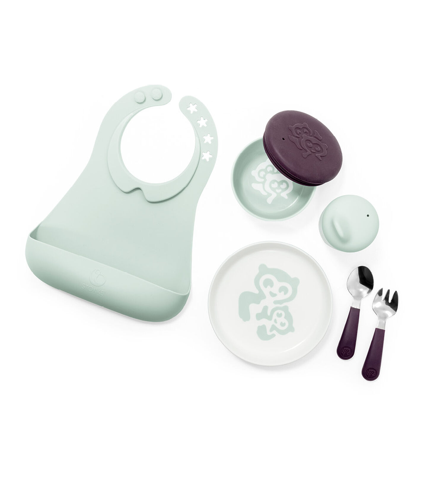 Stokke® Munch Complete Soft Mint, Soft Mint, mainview view 2
