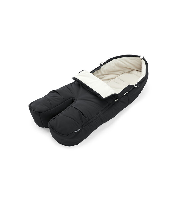 Stokke® Fußsack Black, Black, mainview