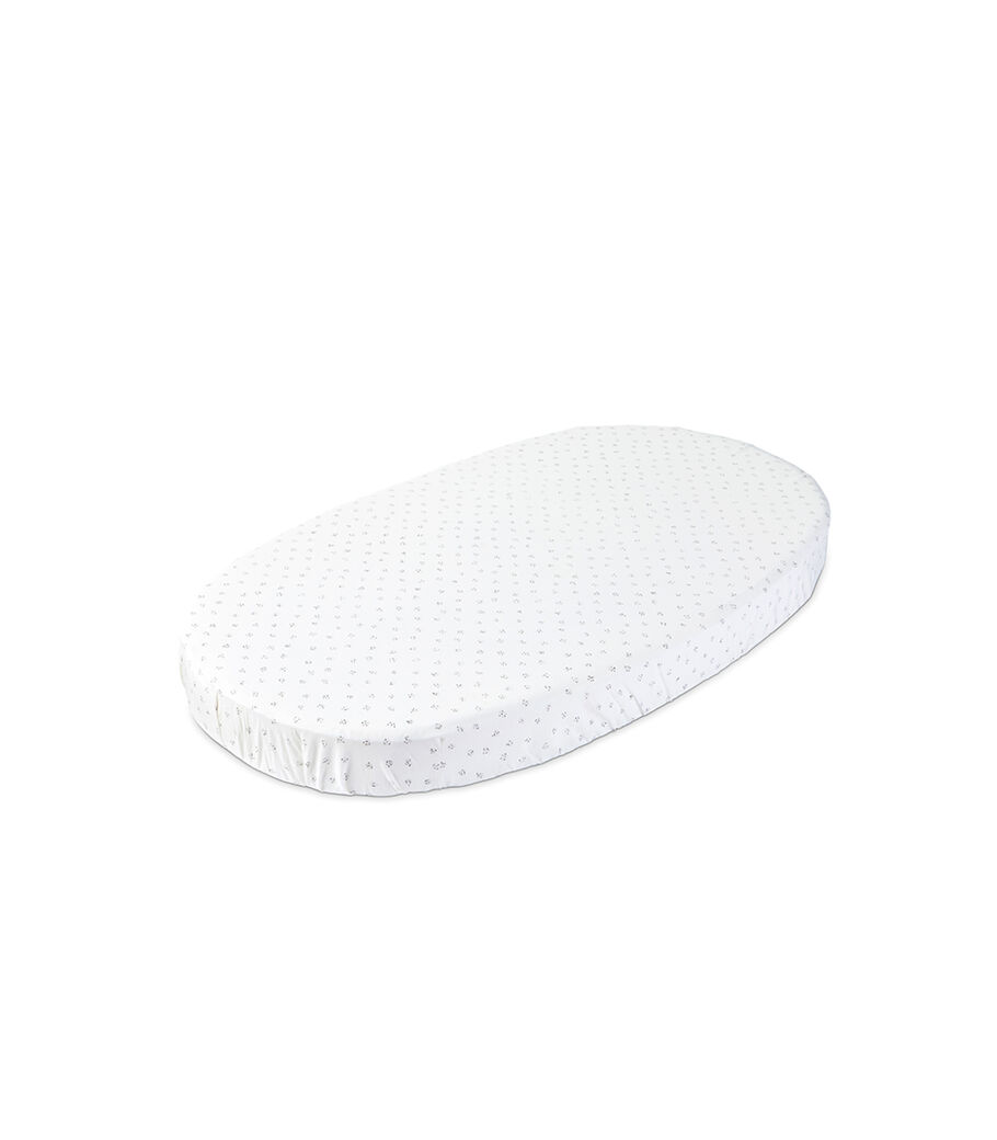 Stokke® Sleepi™ Fitted Sheet by Pehr, Grey Dotty, mainview view 15