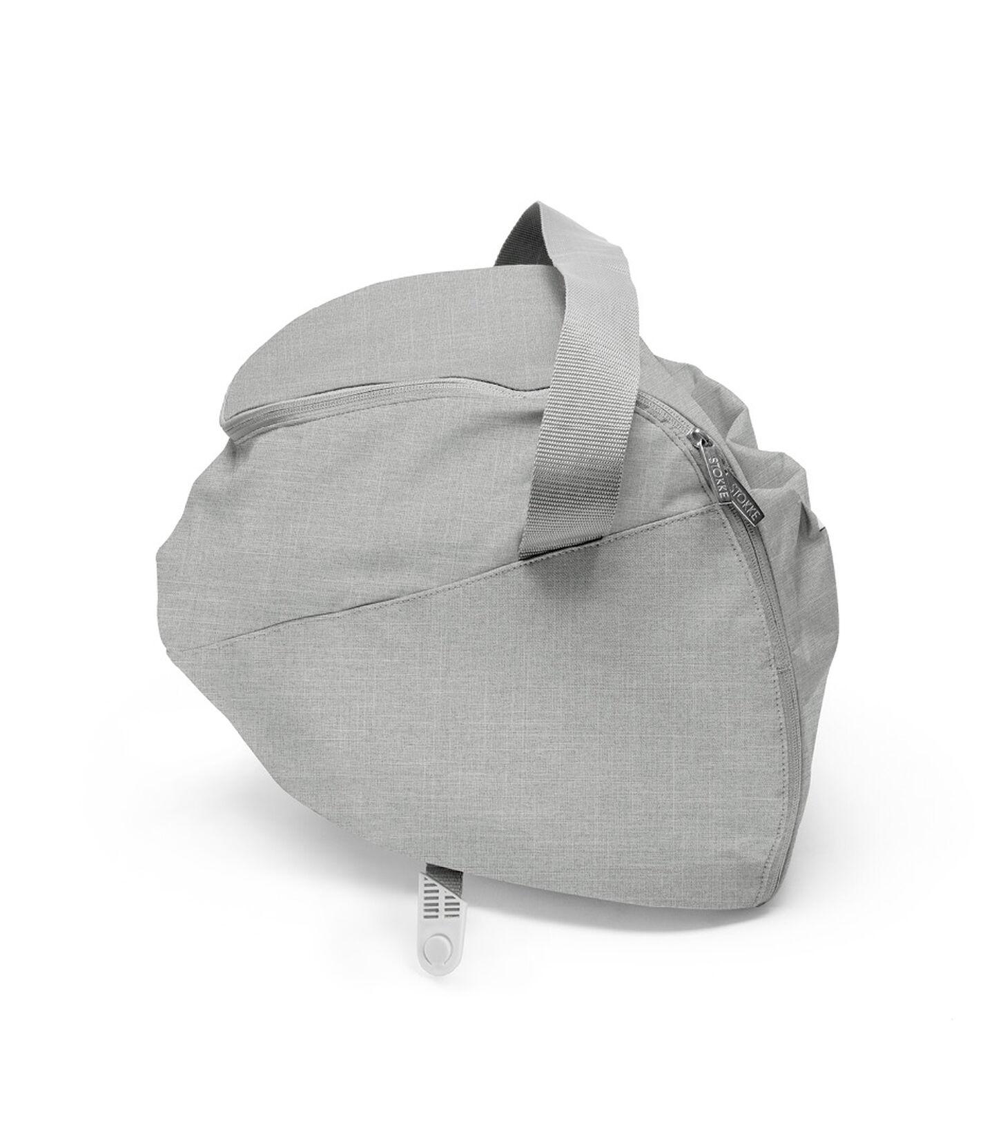 Stokke® Xplory® Shopping Bag Grey Mel, Grey Melange, mainview view 2