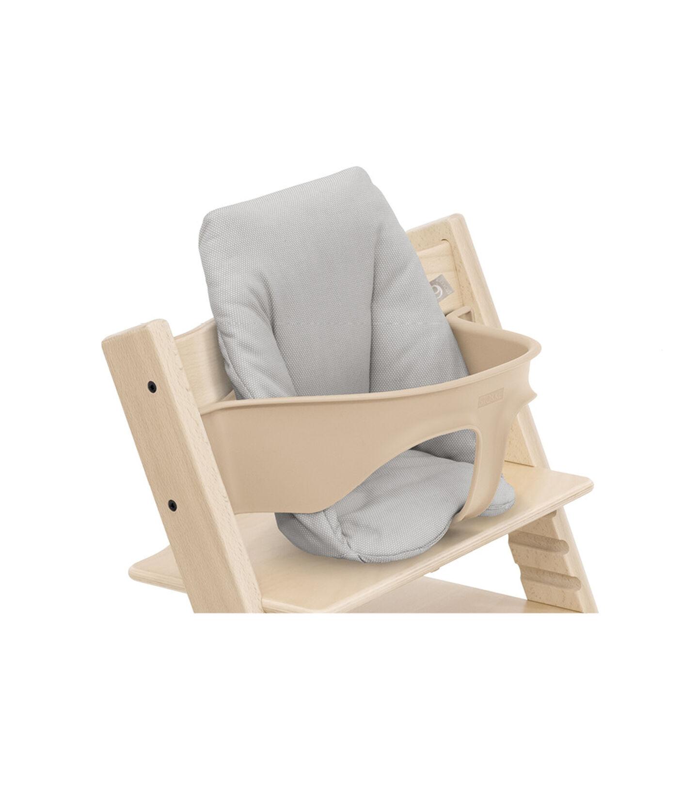 Tripp Trapp® Baby Cushion Timeless Grey OCS, Gris intemporel, mainview view 2