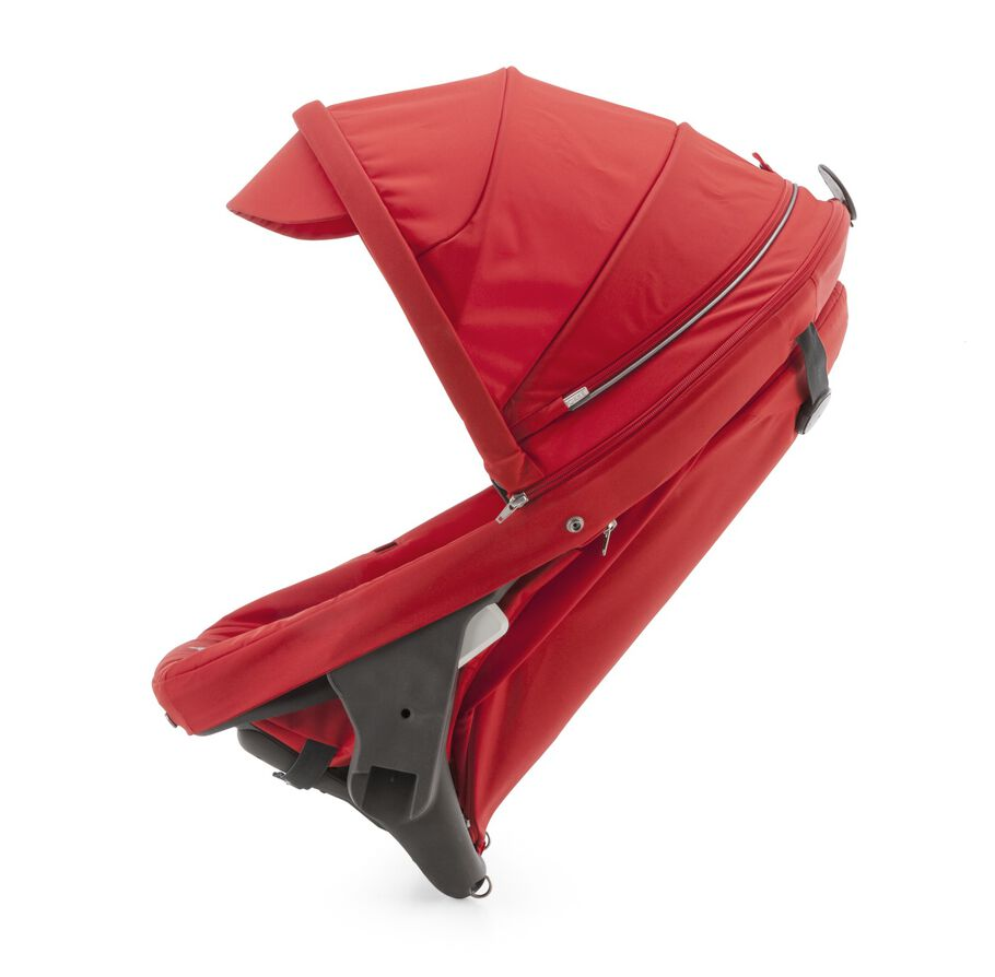 Stokke® Crusi™ Sibling Seat and sparepart seat for Stokke® Scoot™. Red.