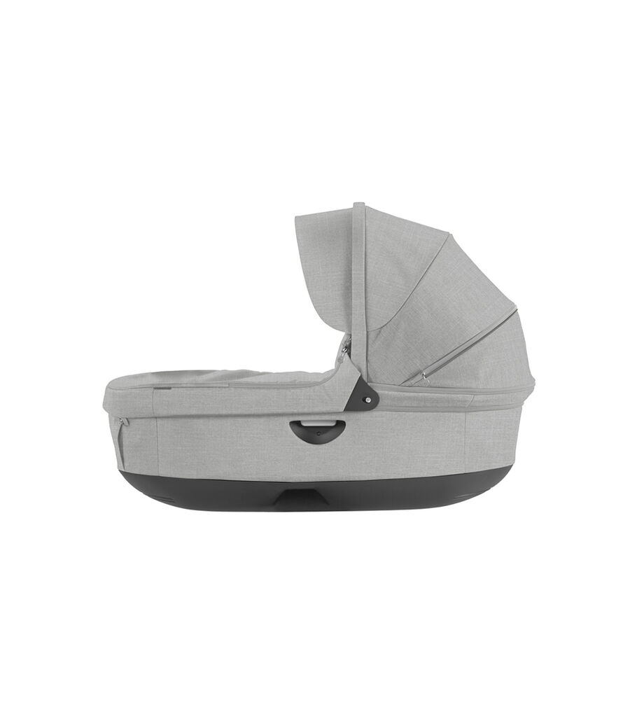 Stokke® Stroller Carry Cot. Grey Melange. (Canopy not included).