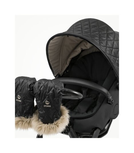 Stokke® Xplory® X with Seat and Winter Kit, without Storm Cover, Footmuff and Sheepskin Rim. Active. Detail. view 6