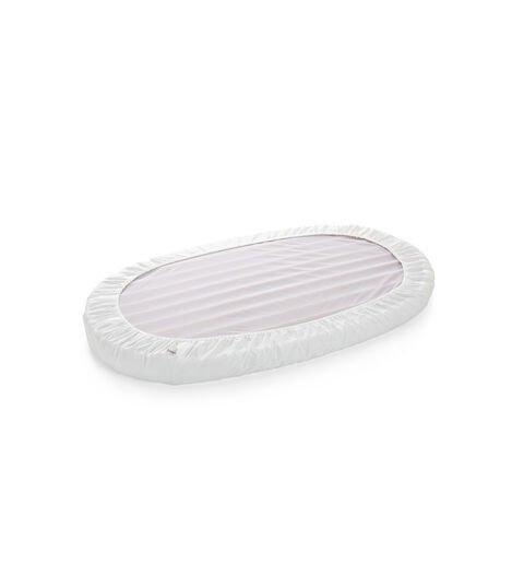 Stokke® Sleepi™ Fitted Sheet Blanc, Blanc, mainview view 3
