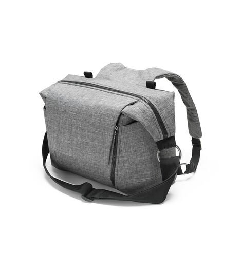 Stokke® Changing Bag Black Melange, Black Melange, mainview view 3