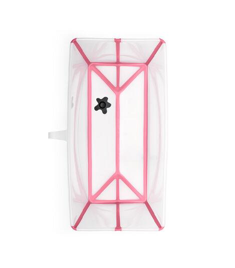 Stokke® Flexi Bath® bath tub, Transparent Pink. Open. view 5