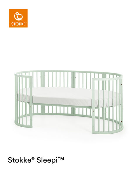 Stokke® Sleepi™ Junior Extension Mint Green, Mint Green, mainview view 9