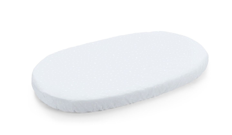 Stokke® Sleepi™ Bed Fitted Sheet. Blue Sea.