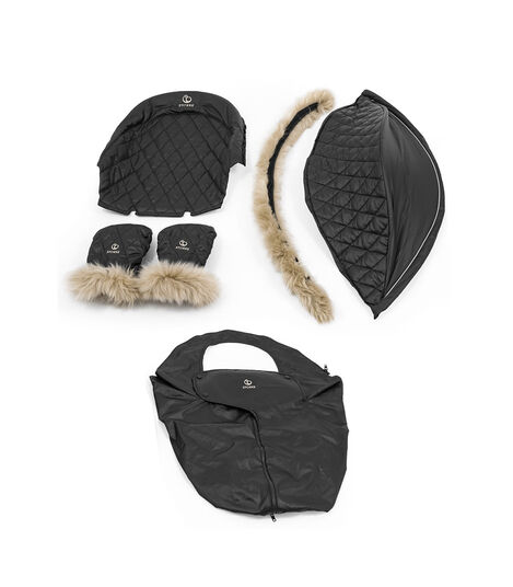 Stokke® Xplory® X Winter Kit Schwarz, Black, mainview view 10