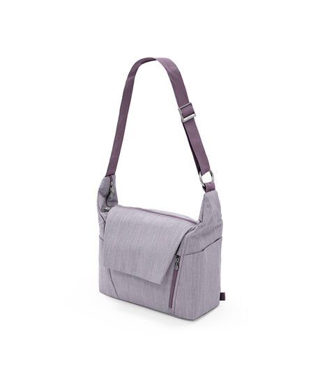 Stokke® Changing bag Brushed Lilac, Сиреневый твид, mainview