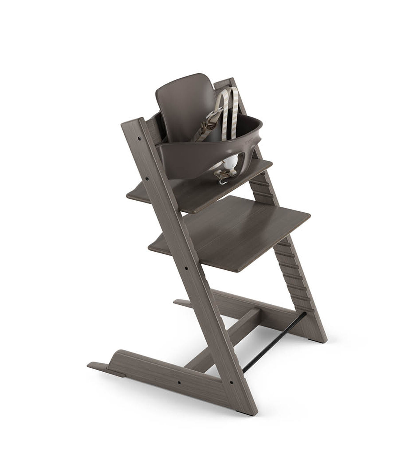 Tripp Trapp® Bundle High Chair US 18 Hazy Grey, Hazy Grey, mainview view 2