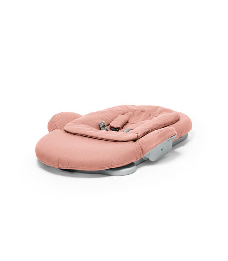 Stokke® Steps Bouncer in Soft Coral. Folded. view 4