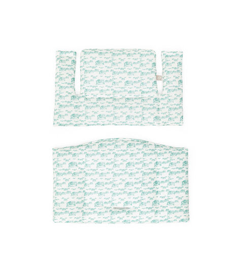 Tripp Trapp® Classic Cushion in Aqua Car pattern, for Japan only
