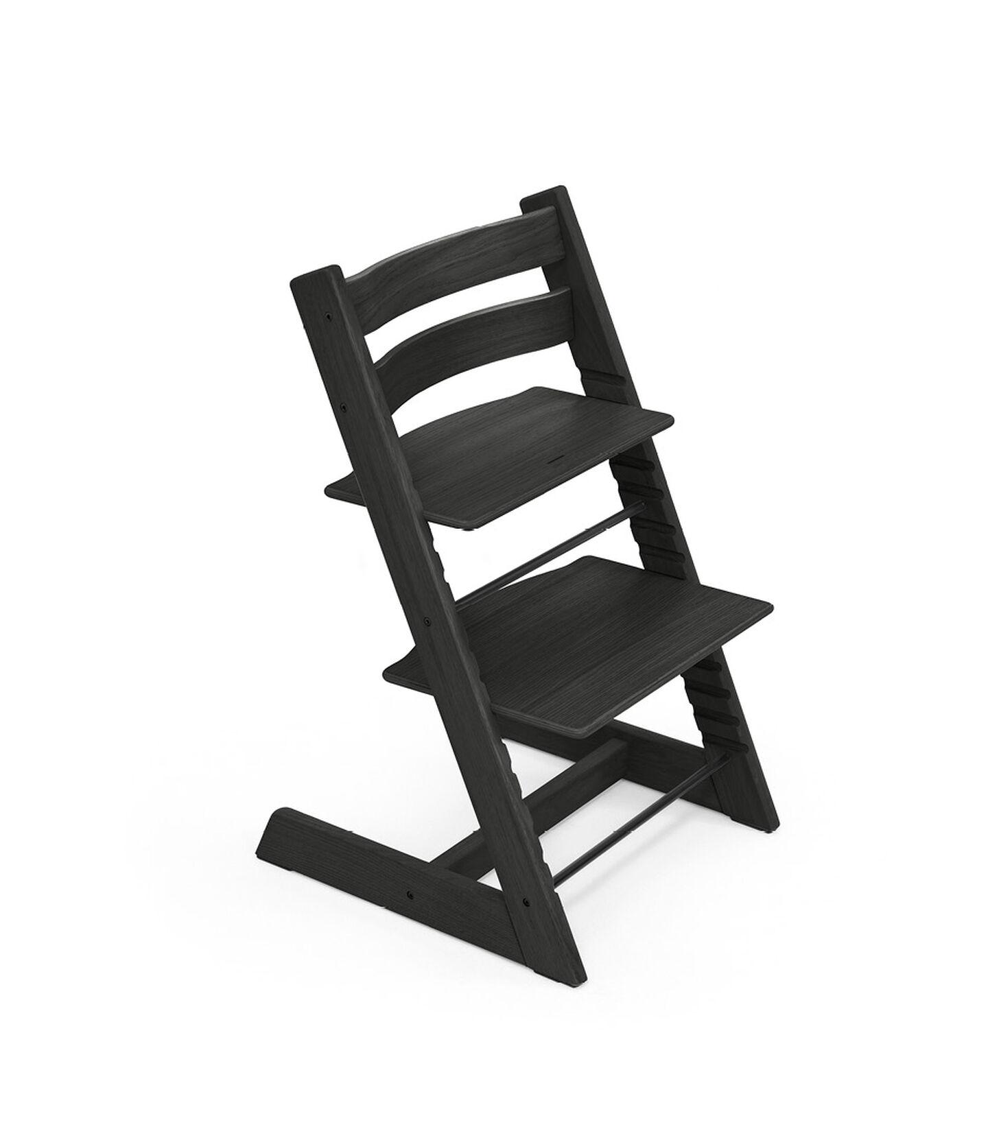 Tripp Trapp® chair Oak Black. view 1
