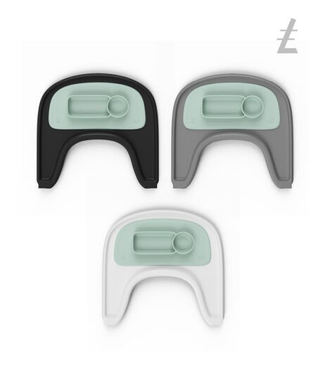 ezpz™ by Stokke™ placemat for Stokke® Tray Soft Mint, Vert menthe, mainview view 5