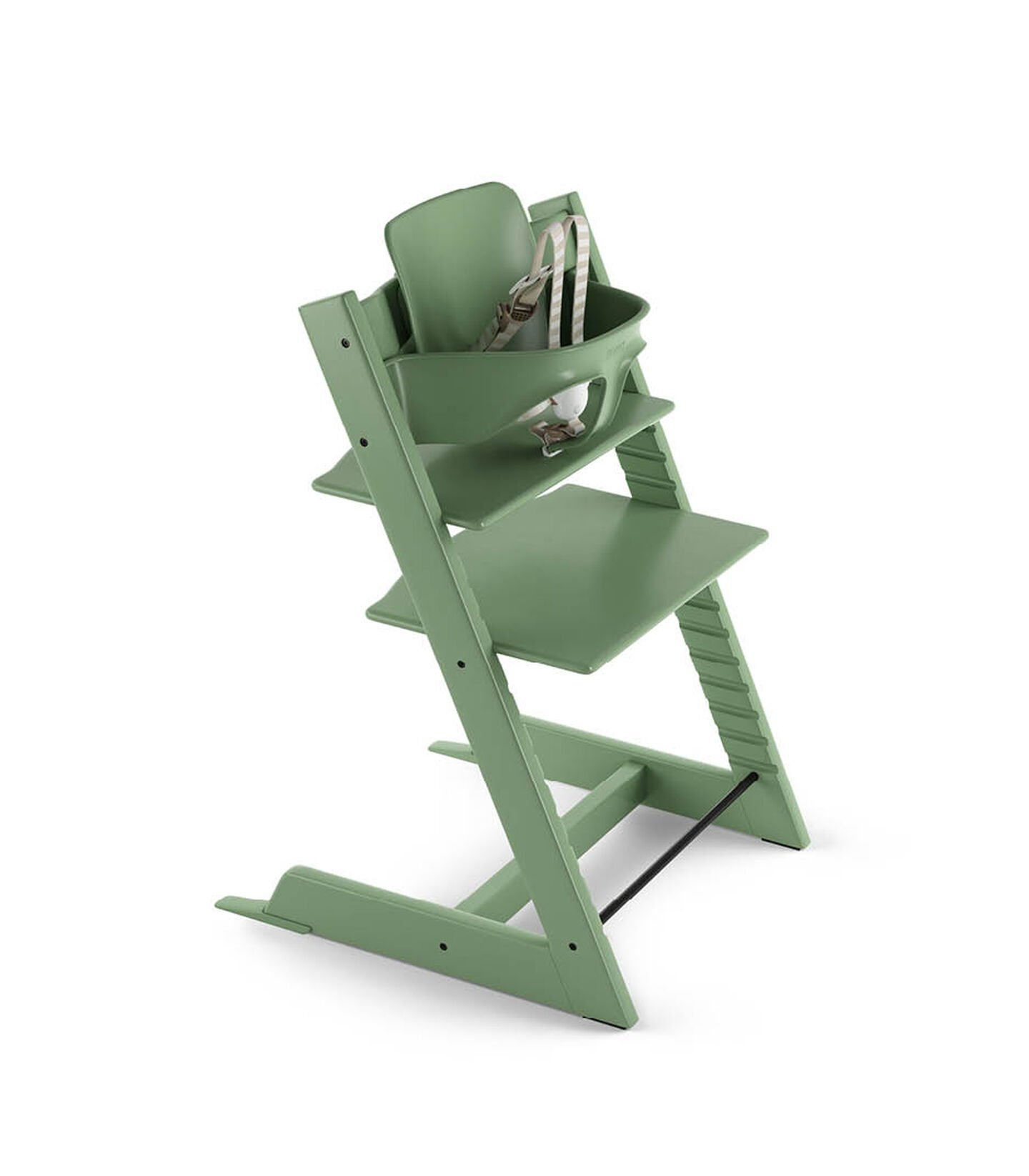 Tripp Trapp® Bundle High Chair US 18 Moss Green, Moss Green, mainview view 2
