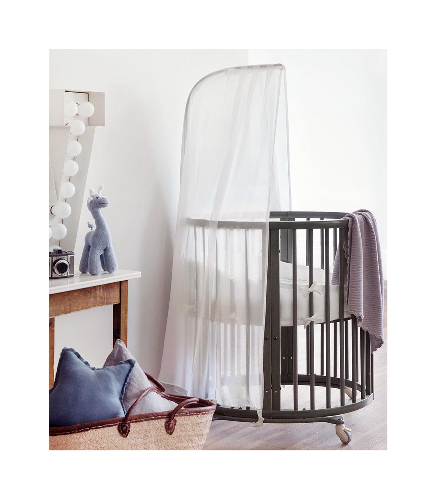 Stokke® Sleepi™ Mini Hazy Grey, Gris Brume, mainview view 2