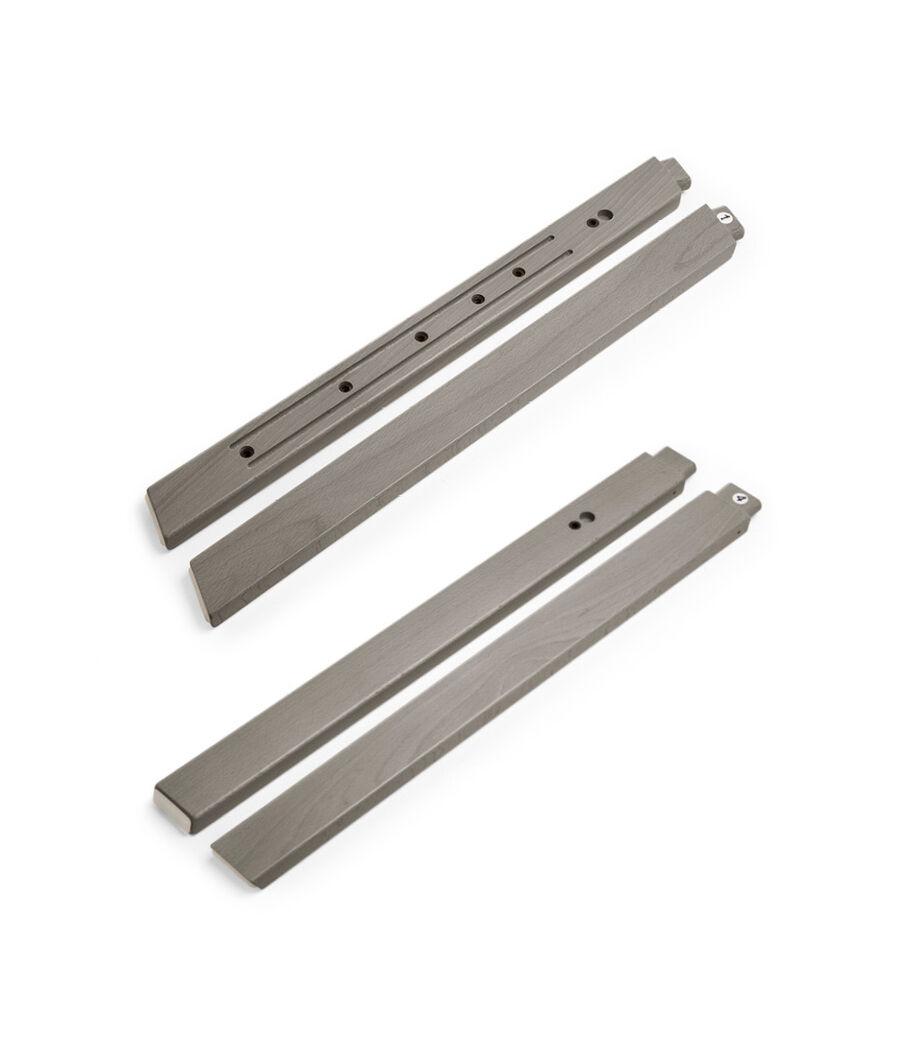 Stokke® Steps™ Wood leg set, Hazy Grey. Accessories.