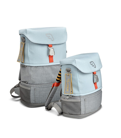 JetKids™ by Stokke® Crew BackPack Blue Sky, size comparison