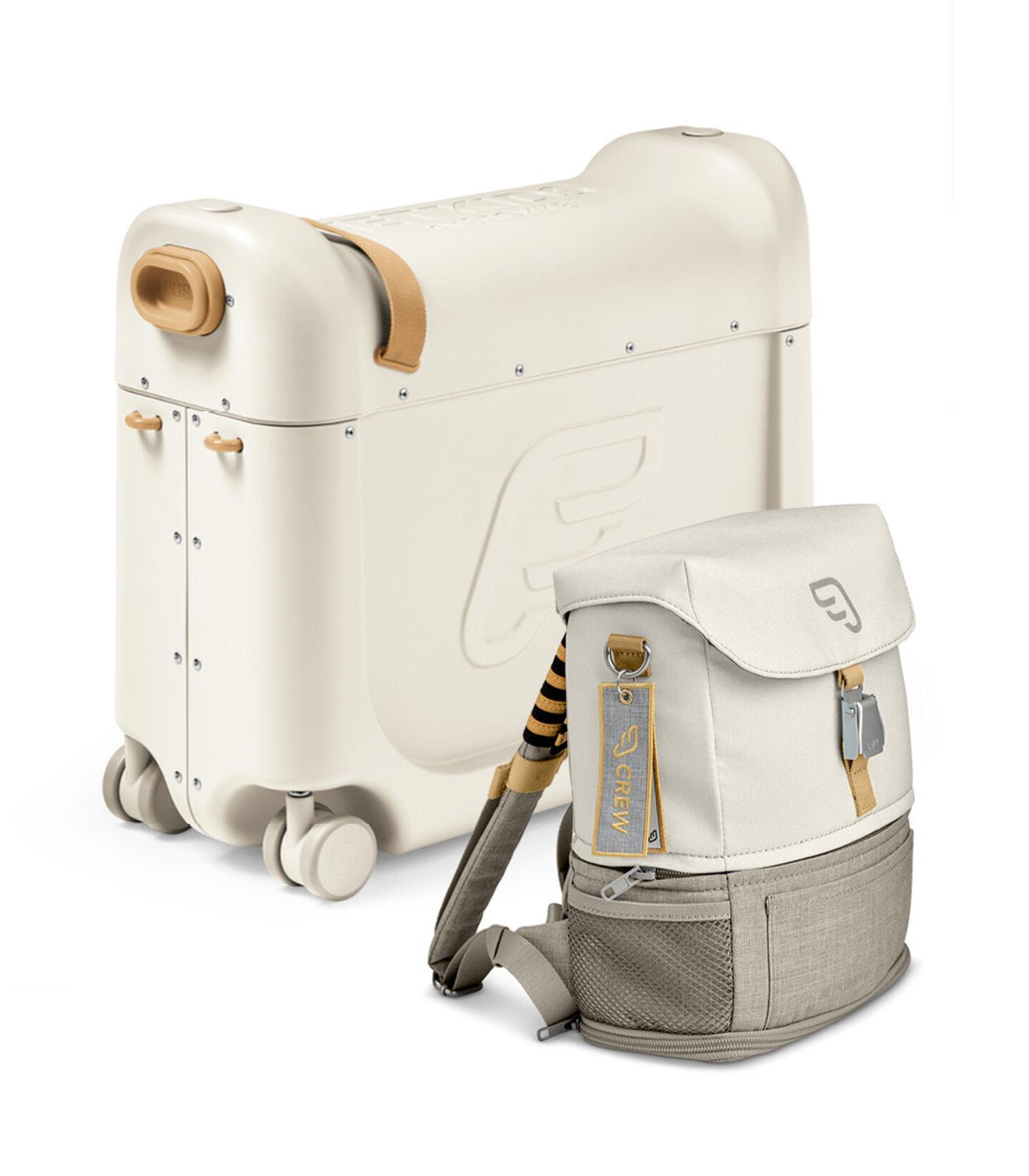 Zestaw podróżny BedBox™ + plecak Crew BackPack™ Biały/Biały, White / White, mainview view 1