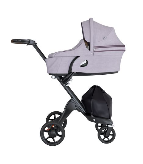 Stokke® Xplory® Carry Cot Complete Brushed Lilac, Lila, mainview view 5