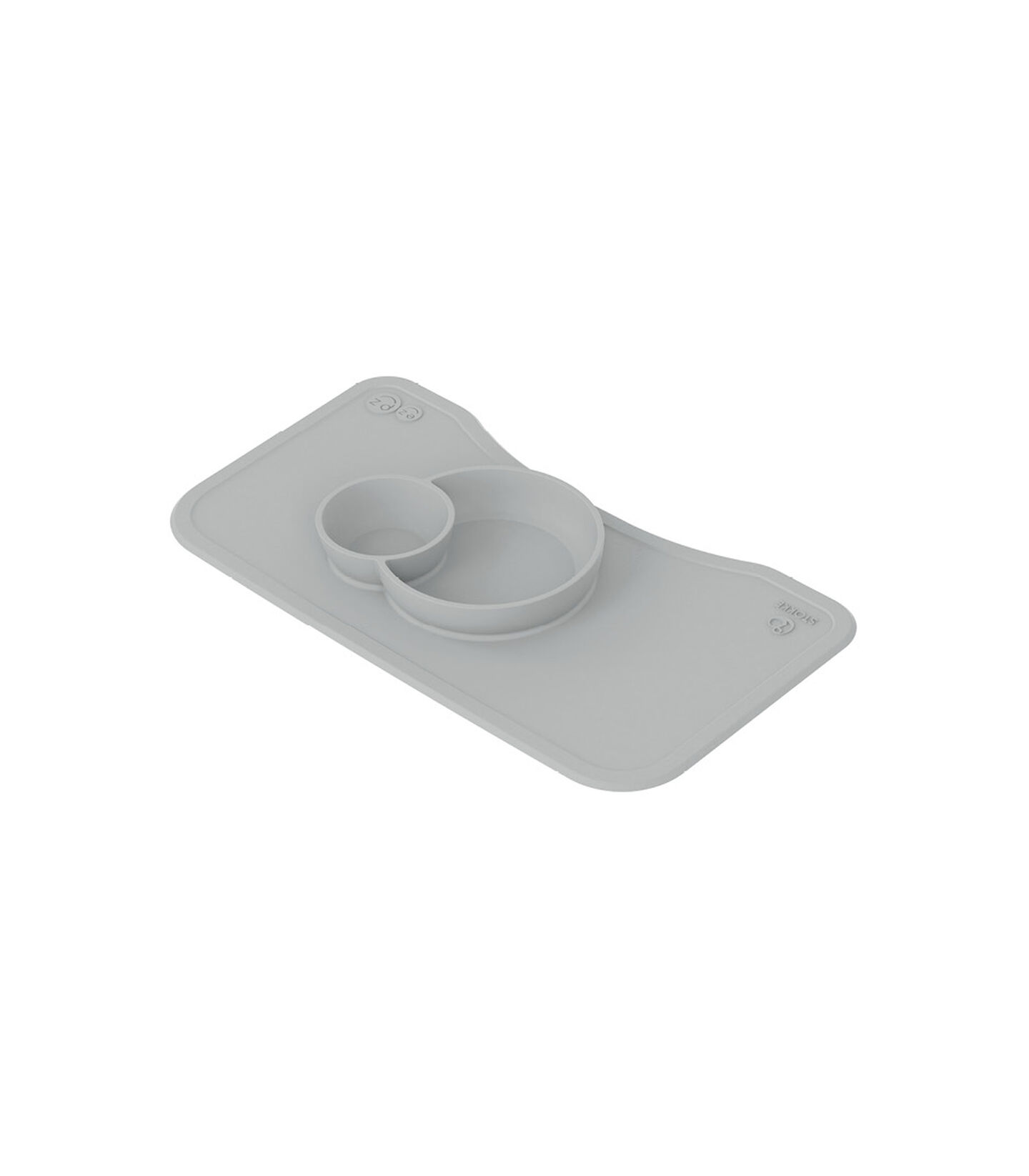 ezpz™ by Stokke® silicone mat for Steps™ Tray Grey, Grey, mainview view 1