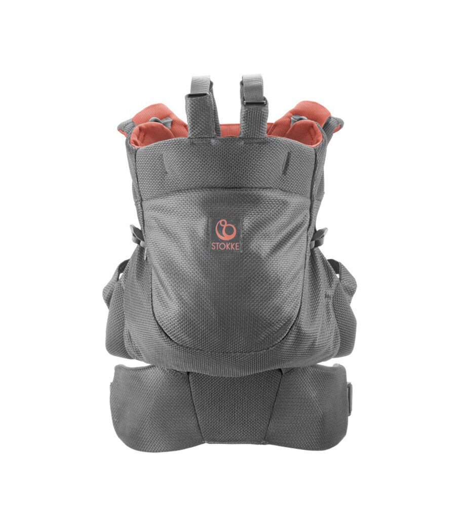 Stokke® MyCarrier™ Back Carrier Coral Mesh.