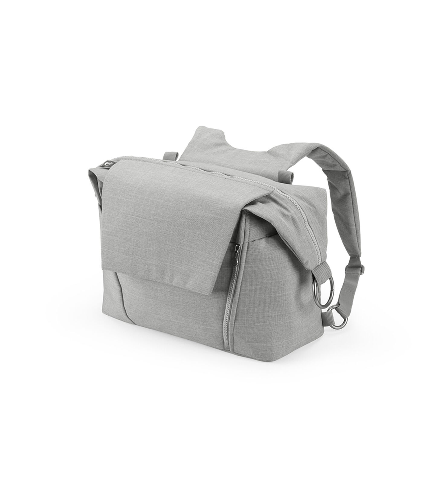 Stokke® Changing Bag Grey Melange, Grey Melange, mainview view 2