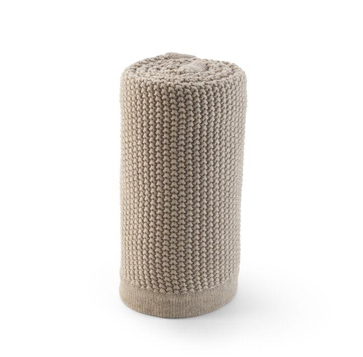 Stokke® Stroller Blanket, Greige Pearl.