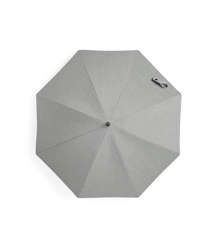Stokke® Xplory® Black Parasol, Grey Melange, mainview view 1