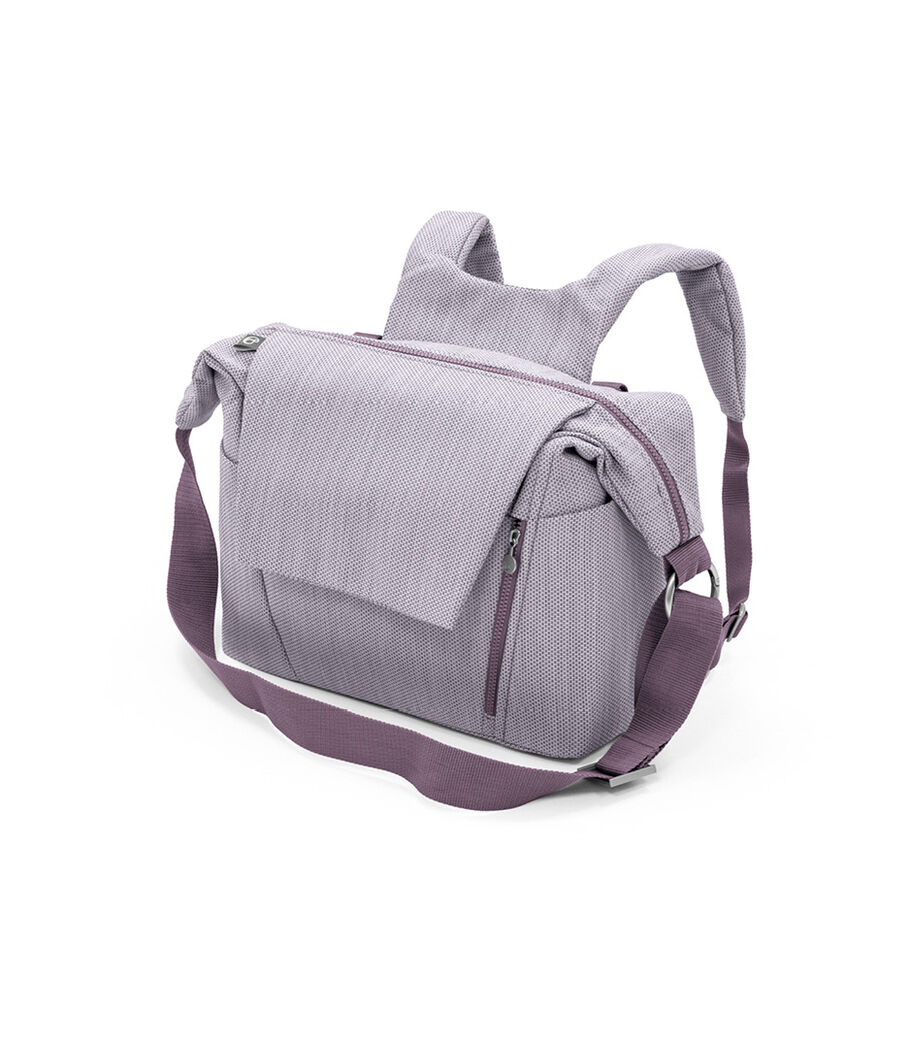Stokke® Stroller Changing Bag, Brushed Lilac. view 36