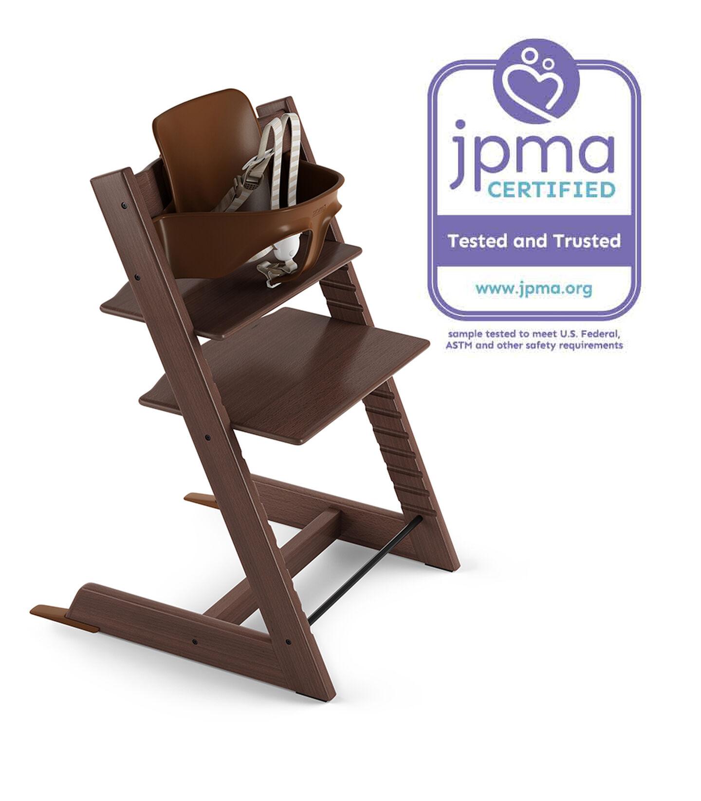Tripp Trapp® Bundle High Chair US 18 Walnut Brown