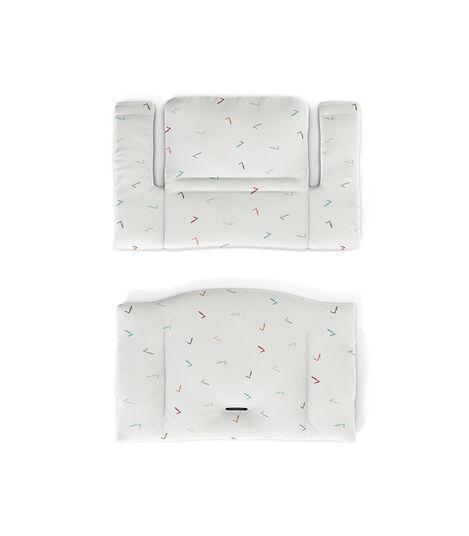 Tripp Trapp® Classic Cushion Icon Multicolor, Разноцветные галочки, mainview view 4