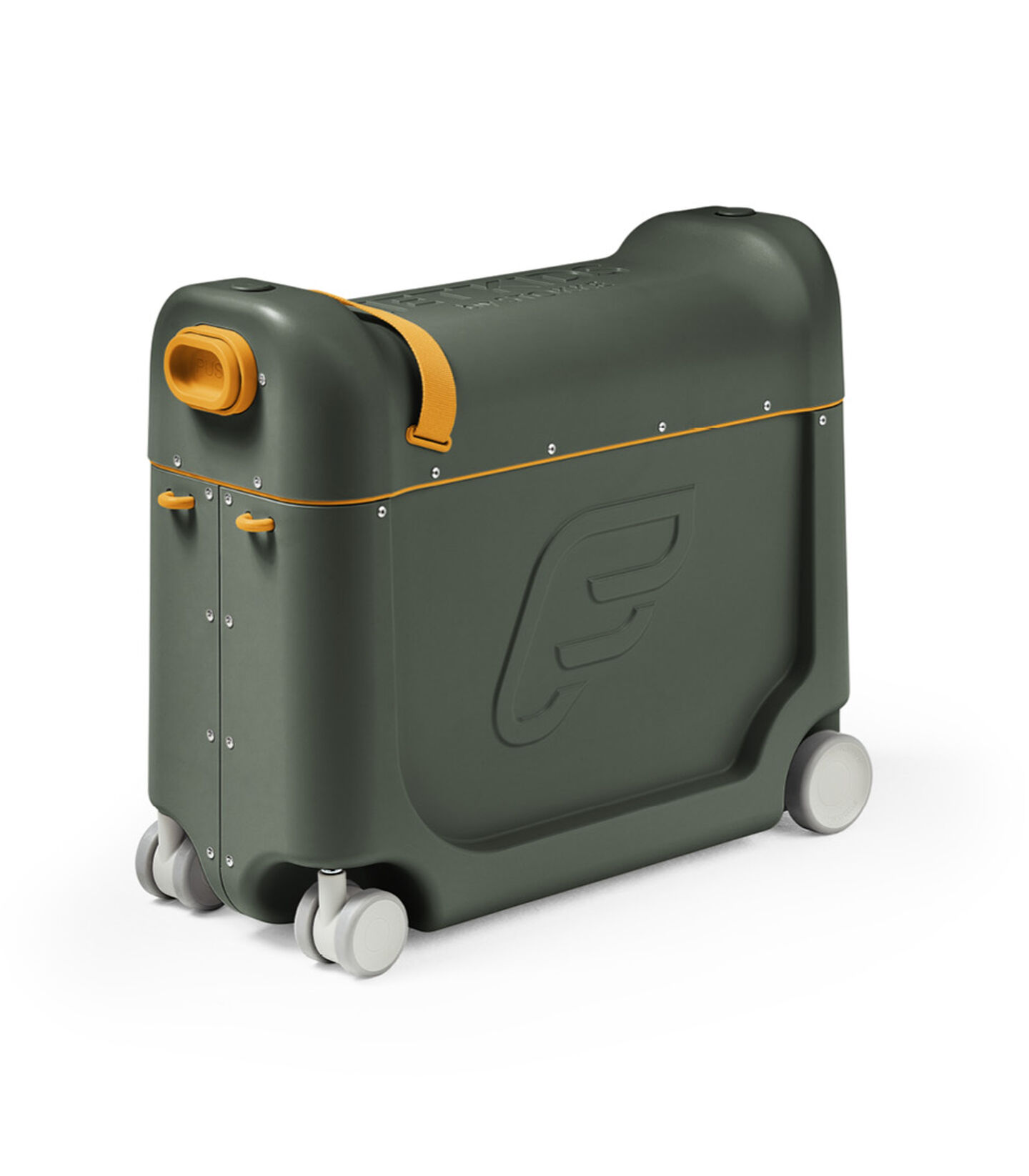 JetKids™ by Stokke® BedBox V3. Golden Olive. Limited Edition 2021 view 1