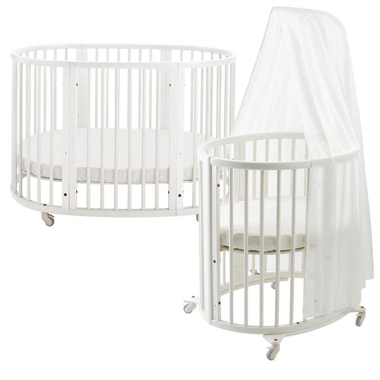 1038 Sleepi Bed + Mini JP White
