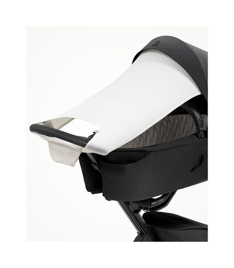 Stokke® Xplory® X Sun Shade Light Grey, Light Grey, mainview view 2